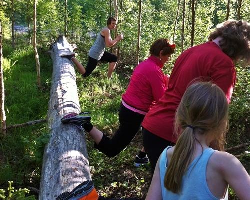 exercise in Målsånna