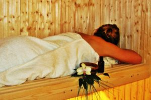 relaxing sauna in Målsånna