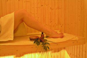 enjoy the sauna