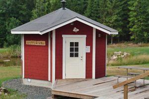 Svettekörka our sauna
