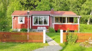 rent cottage Skogsviol for you with dog
